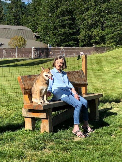 Sara and her dog